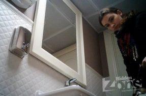 Скрытая камера в дамском туалете