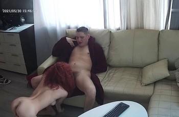 Горячий секс с замужней сучкой на скрытую камеру
